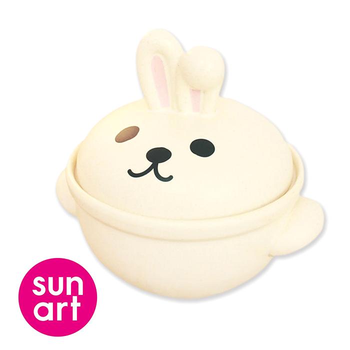 日本sunart陶鍋 兔子0.7L
