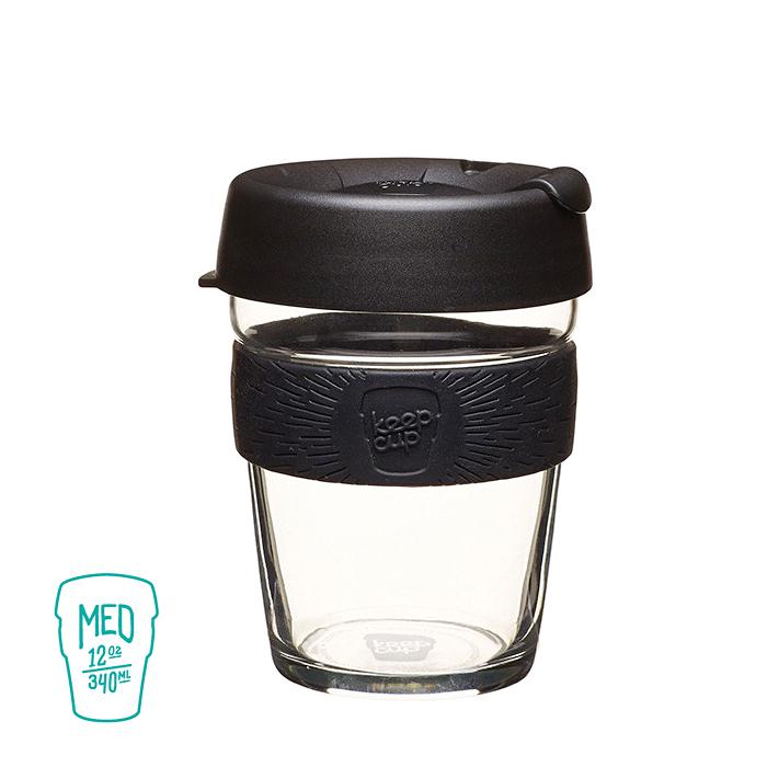 澳洲 KeepCup 隨身咖啡杯 醇釀系列(M) 黑色幽默