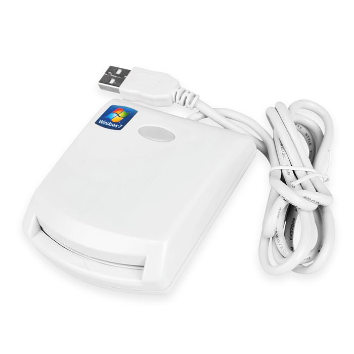 iETOP EZ100 EZ100PU 晶片讀卡機(白)