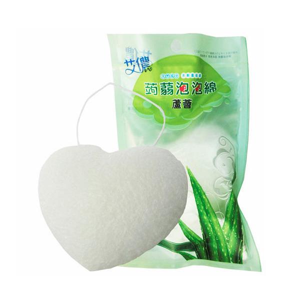 QQ潔顏蒟蒻泡泡棉-蘆薈