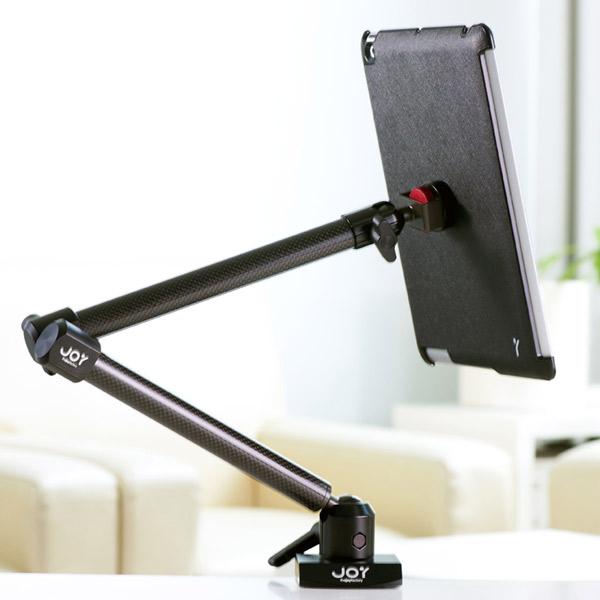 磁吸式 iPad Air 夾具式L型桌架