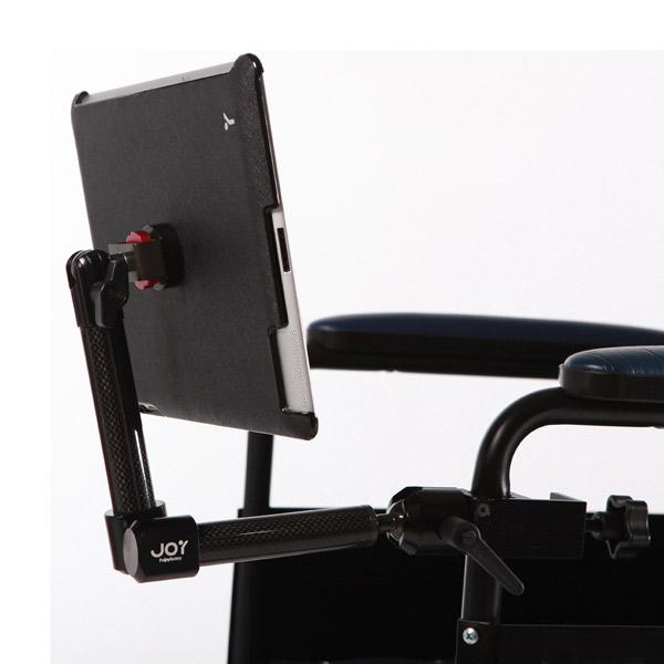 磁吸式 iPad 輕便碳纖維輪椅支架