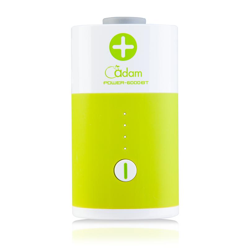 亞果行動電源 6000 mAh (3.5A雙輸出)-活力綠