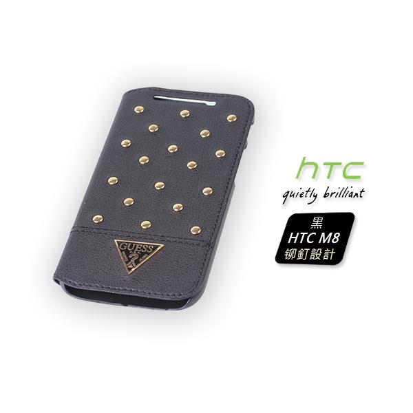 V-smart GUESS皮套 TESSI 黑 (HTC M8)