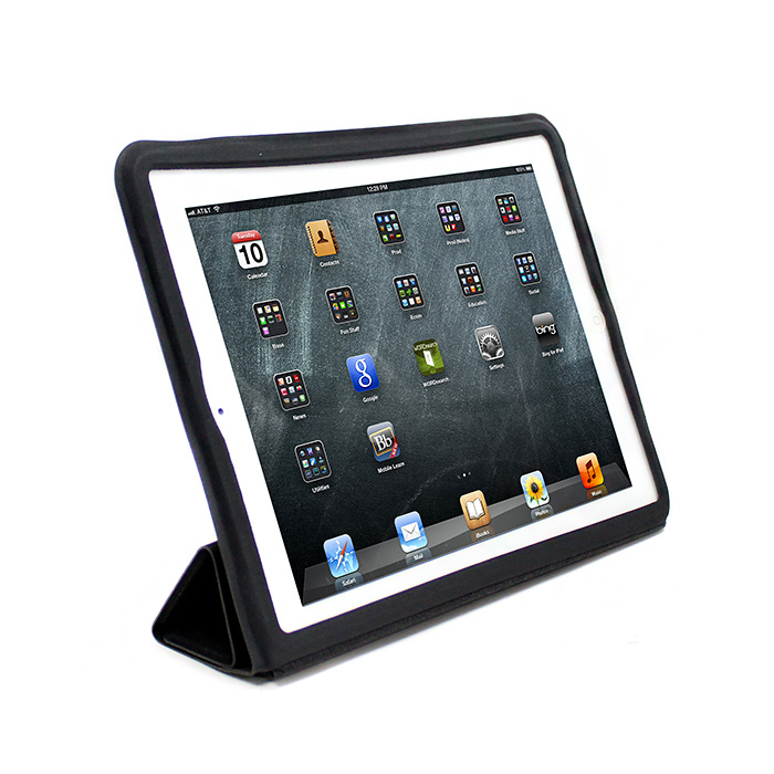 V-smart New iPad/iPad2 Smart cover 保護套(黑)