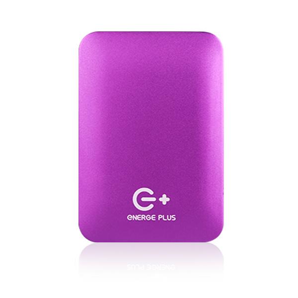 Energe Plus 6400mAh 時尚粉盒機行動電源(雙輸出)-紫