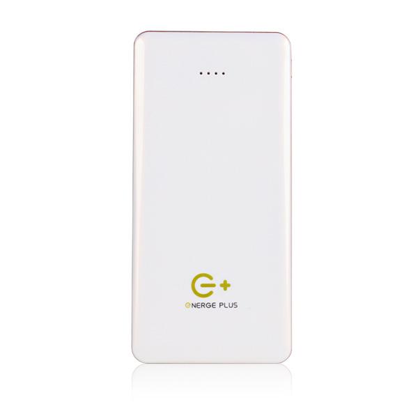 Energe Plus 12000mAh 大金磚行動電源(雙輸出)-白